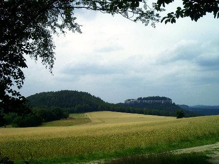Festung Königstein und Quirl Festung Königstein und Quirl