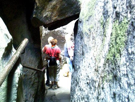 Klammweg - Bequemer Abstieg am Pfaffenstein  Klammweg - Bequemer Abstieg am Pfaffenstein