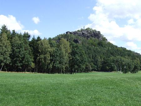 """Bildschirmschoner """"Panorama am Papststein, August 2008"""" papststein bildschirmschoner papstdorf elbsandsteingebirge sächsische schweiz Das Panorama vom Papststein gibt es auch als Bildschirmschoner"""